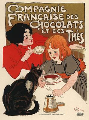 Compangnie Francaise Des Chocolats Et Des Thes Poster by Gianfranco Weiss