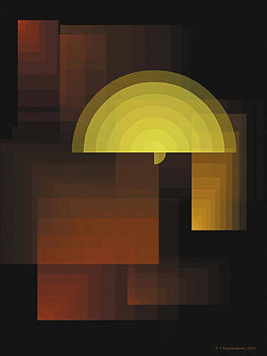 Composition 27 Poster by Terry Reynoldson