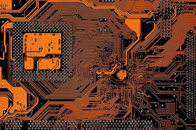 Computer Motherboard Poster