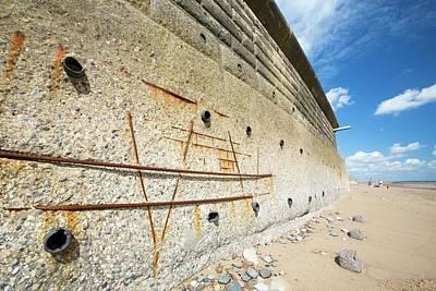 Concrete Sea Defences Poster
