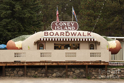 Coney Island Boardwalk Poster