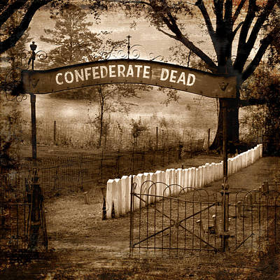 Confederate Dead Poster by T Lowry Wilson