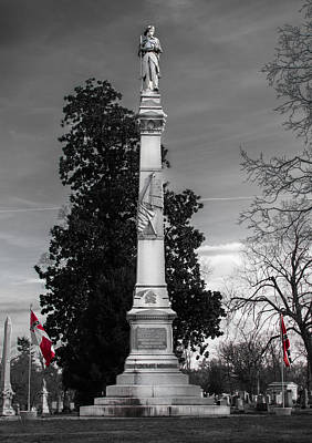 Confederate Monument Poster