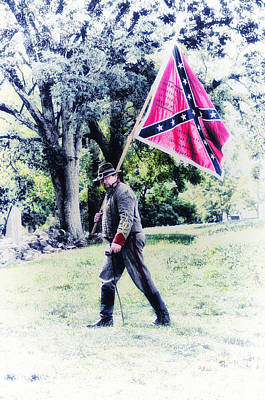 Confederate Soldier Poster