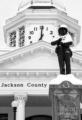 Confederate Soldier Statue 2014 Poster