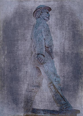 Soldier Statue Vii Alabama State Capitol Poster by Lesa Fine