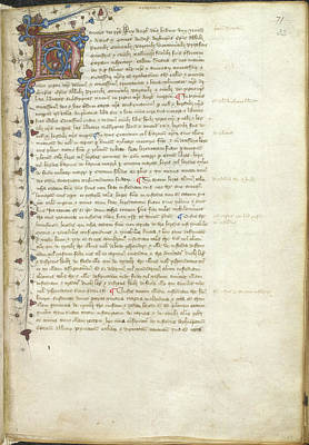 Confirmation Of Magna Carta Poster by British Library