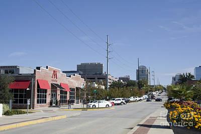 Congaree Vista District In Columbia South Carolina Poster