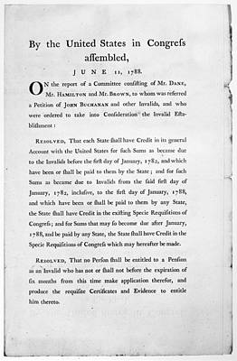 Congress Committee, 1788 Poster by Granger