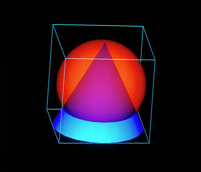 Conical Domain In A Sphere Poster