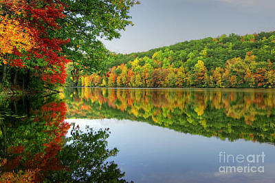 Connecticut River In Autumn Poster