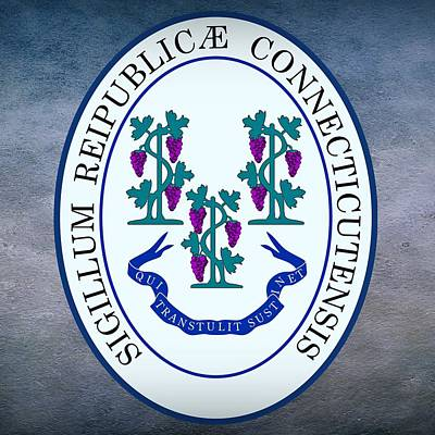 Connecticut State Seal Poster