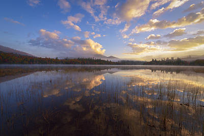 Connery Pond Sunrise Poster by Joseph Rossbach