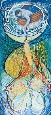 Consciousness, 2012 Mixed Media Poster