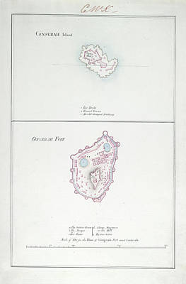 Conserah Island And Gingerah Fort Poster by British Library