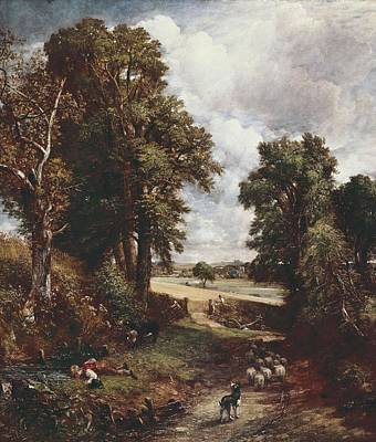 Constable, John 1776-1837. The Poster by Everett
