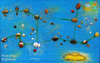 Constellation Of Virgo Poster