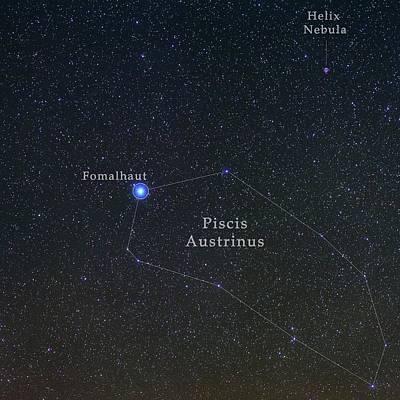 Constellation Piscis Austrinus Poster by Babak Tafreshi