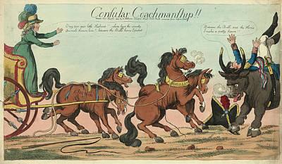 Consular Coachmanship, Holland, William, Active 1782-1817 Poster by Litz Collection