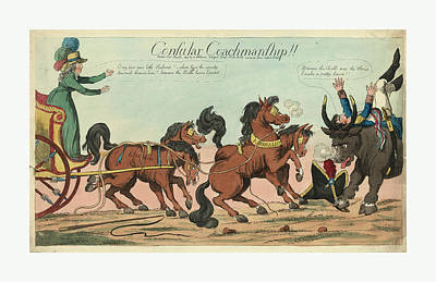 Consular Coachmanship Publisher, London Poster by Egyptian School