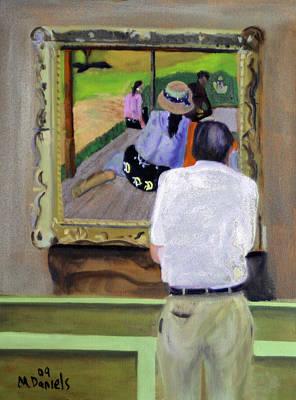 Contemplating Gauguin Poster