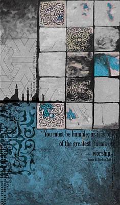 Contemporary Islamic Art 62 C Poster