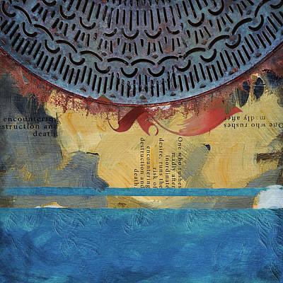 Contemporary Islamic Art 72 B Poster