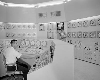 Control Room 1959 Poster