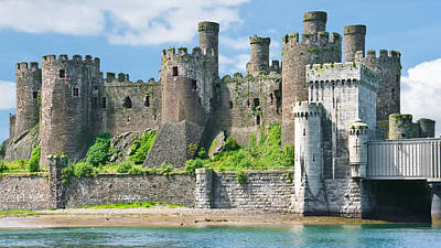 Conwy Castle Wales Poster