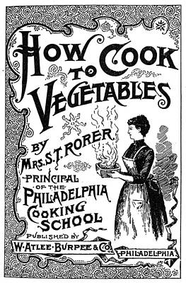Cookbook, 19th Century Poster by Granger