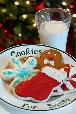 Cookies For Santa  Poster by Amy Cicconi