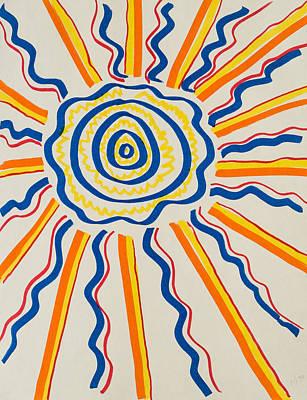 Cool Sun Poster