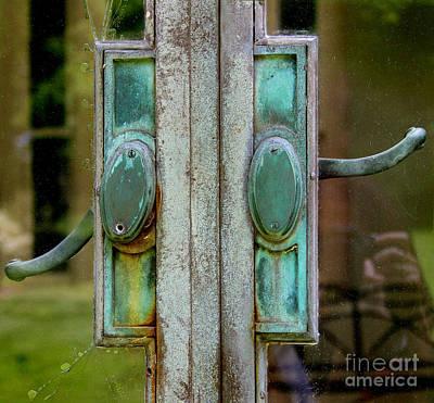 Copper Doorknobs Poster