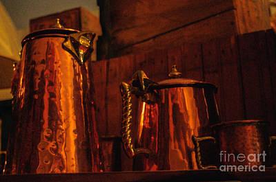 Copper Pots Poster