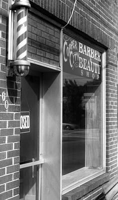 Copperhill Barber Shop Poster