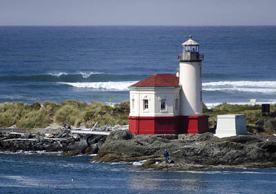 Coquille River Lighthouse Poster
