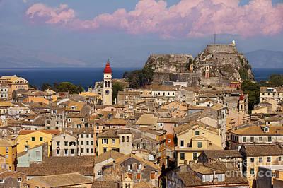 Corfu Town Poster by Brian Jannsen
