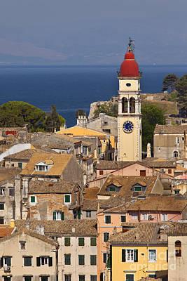 Corfu Town Greece Poster