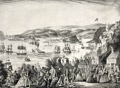 Cork Harbour, 1872 Poster by Science Photo Library