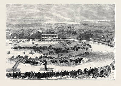 Cork Park Races The Grand National Steeplechase 1869 Poster