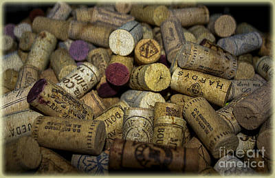 Corks Poster by Patricia Hofmeester