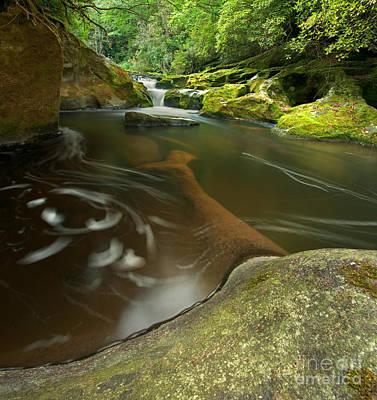 Corkscrew Falls On Chattooga River Poster by Matt Tilghman