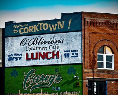 Corktown Poster by Winston Likert