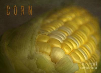 Corn Poster by Elena Nosyreva