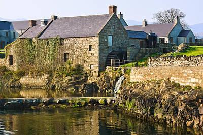 Corn Mill Annalong Northern Ireland Poster by Jane McIlroy