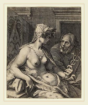 Cornelis Jacobsz Drebbel After Hendrik Goltzius Poster