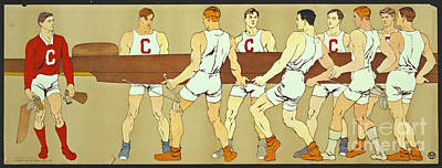 Cornell Crew 1907 Poster by Padre Art