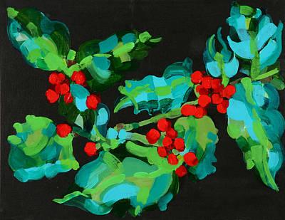 Cornish Christmas  Poster by Deborah Barton
