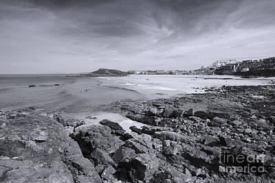 Cornwall Coastline 2 Poster by Doug Wilton