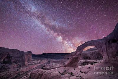 Corona Arch Milky Way Poster